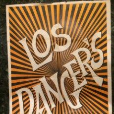 Carteles: CARTEL DEL GRUPO MUSICAL LOS DANGERS. 1969. Lote 103778900