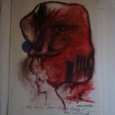 Carteles: MODEST CUIXART. GALERIA RENE METRAS. BARCELONA. 1978. FIRMADO Y DEDICADO. Lote 105114571