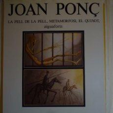 Carteles: JOAN PONÇ. PINACOTECA MUNICIPAL. TOSSA DE MAR. 1984. Lote 105114891
