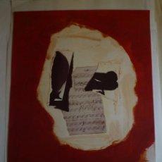 Carteles: MOTHERWELL. GALERIA JOAN PRATS. BARCELONA. 1986. Lote 105116823
