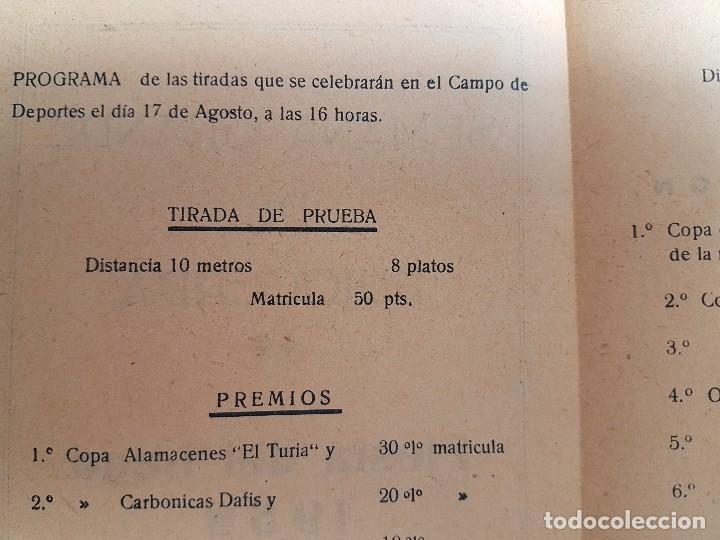 Carteles: FOLLETO SEMANA GRANDE DE PUIGCERDÀ ( 1958 ) CONCURSO TIRO AL PLATO - Foto 4 - 105264843