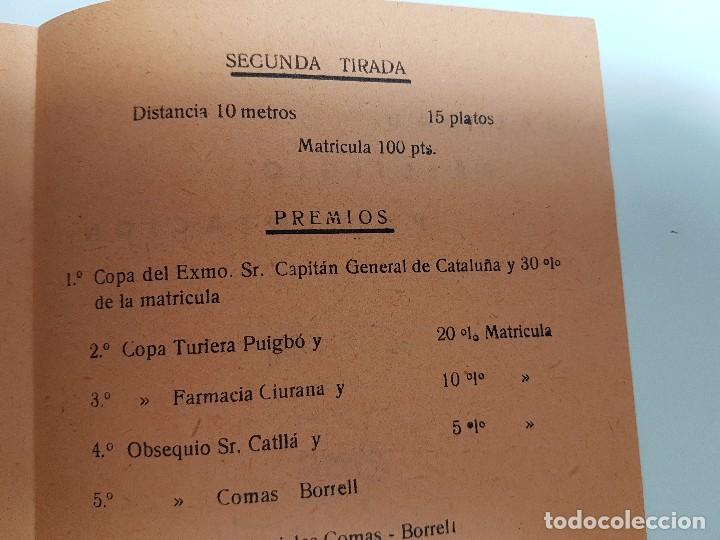 Carteles: FOLLETO SEMANA GRANDE DE PUIGCERDÀ ( 1958 ) CONCURSO TIRO AL PLATO - Foto 6 - 105264843