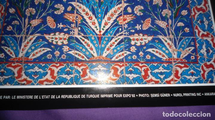 Carteles: Póster / cartel Turquía. EXPO´92 Sevilla - Foto 2 - 109546747