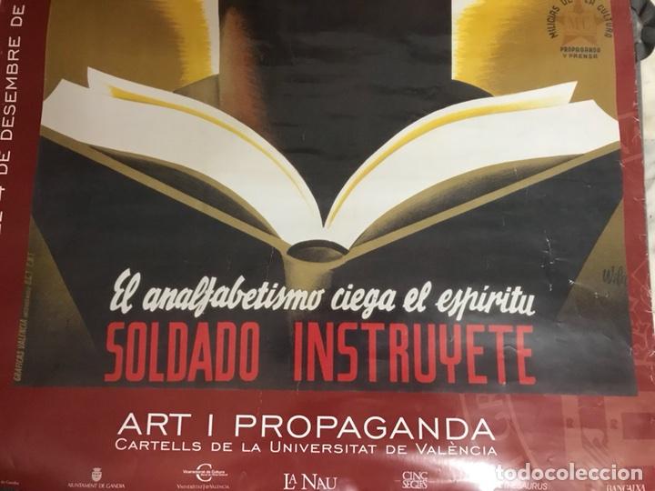Carteles: Valencia. ART I PROPAGANDA. Cartells universitat (Dic.2001-Ene.2002) - Foto 2 - 111725944