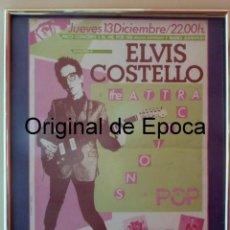 Carteles: (JAI-180201)CARTEL DEL CONCIERTO DE ELVIS COSTELLO EN BADALONA , 15 DE DICIEMBRE DE 1979 .. Lote 112306447