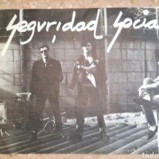 Carteles: CARTEL ORIGINAL DE SEGURIDAD SOCIAL. Lote 112471200