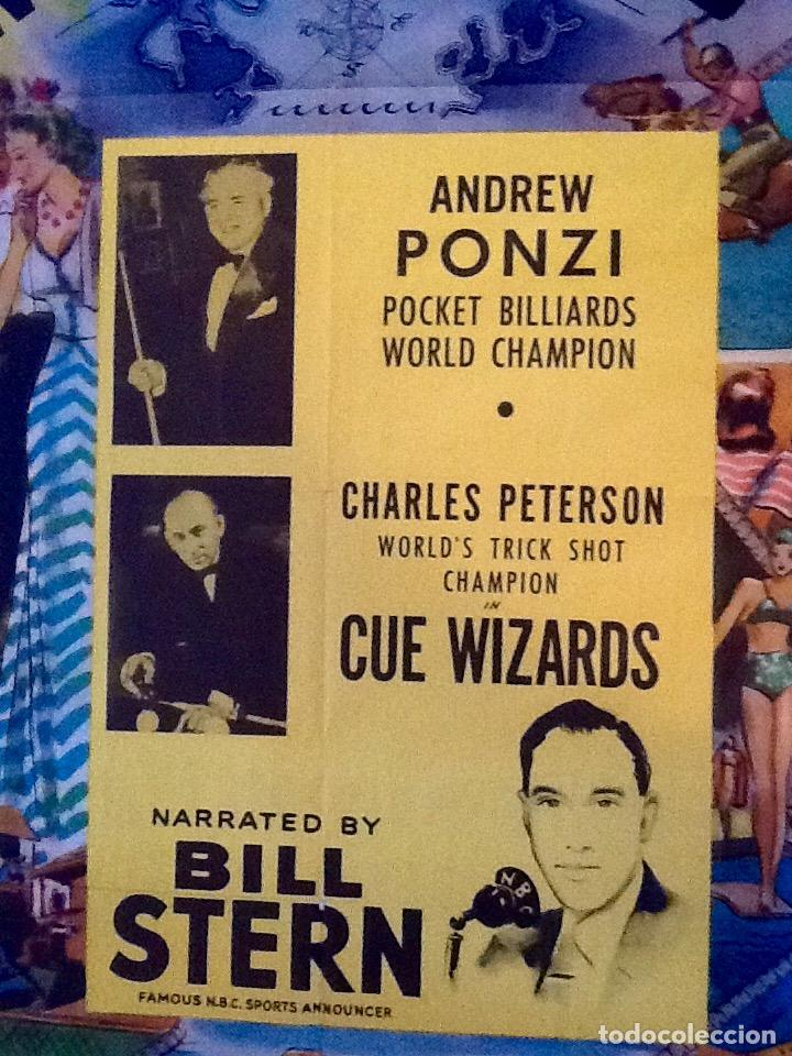 Carteles: CARTEL MUNDO DE LOS DEPORTES, COLUMBIA PICTURES 1950 USA. ENVIO CERTIFICADO INCLUIDO. - Foto 4 - 112905915