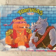 Carteles: POSTER TORTUGAS NINJA. 1990. MATUTANO. Lote 113201767