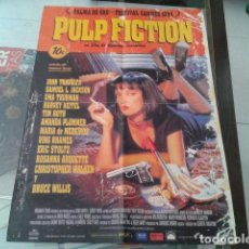 Carteles: POSTER DOBLE CARA 45X56 ( PULP FICTION - FORREST GUMP ) 1994 VER FOTOS. Lote 113257923