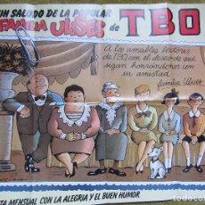 Affissi: POSTER FAMILIA ULISES DEL TBO 78X57. Lote 113380375