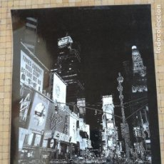 Carteles: CARTERL POSTER FOTOGRAFICO TIMES SQUARE PHOTOGRAPHY FOTO BY TEO TARRAS - MEDIDA: 61 X 42 CM. Lote 113434227