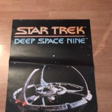 Carteles: ANTIGUO PÓSTER CARTEL DE CINE DE STAR TREK DEEP SPACE NINE. Lote 113697443