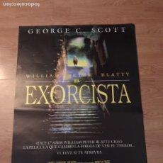 Carteles: ANTIGUO PÓSTER CARTEL DE CINE DE EL EXORCISTA 3. Lote 113703007