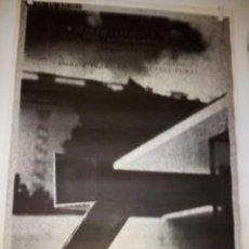 Carteles: CARTEL ORIG/ EXPO-.LESS IS MORE-XIX CONGRÉS DE LA UNIÓ INTERNACIONAL D´ARQUITECTES-ANY 1996. Lote 114166143