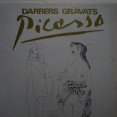 Carteles: PICASSO. 157 OBRES DONADES A LA CIUTAT . MUSEU PICASSO. BARCELONA. 1980. Lote 114639451