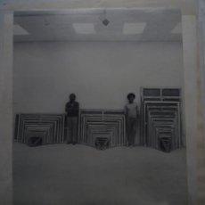 Carteles: ARRANZ-BRAVO & BARTOLOZZI. MIDES UNIVERSALS. SALÓ DEL TINELL. BARCELONA. 1979. Lote 114727199