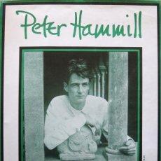 Carteles: PETER HAMMILL. CARTEL CONCIERTO EN BARCELONA 1986. Lote 114875467