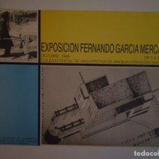 Carteles: ANTONI GARCÍA MERCADAL. COLEGIO DE ARQUITECTOS DE ARAGÓN. ZARAGOZA. 1985. Lote 115321351