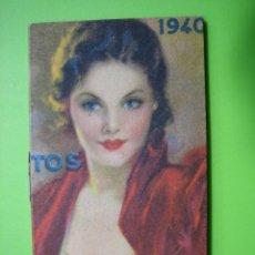 Carteles: CARTELITO LIBRITO PUBLICITARIO PASTILLAS DEL DR ANDREU 1940. Lote 116636435