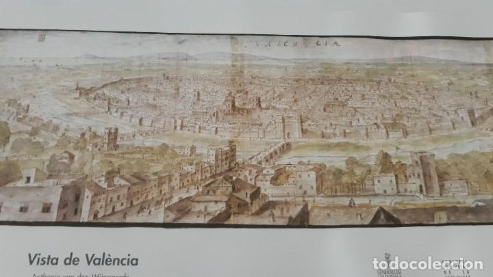 Carteles: Cartel actual Vista de Valencia del dibujo del siglo XVI de Anton Wyngaerde - Foto 3 - 118705063