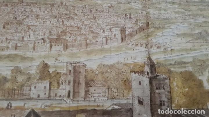 Carteles: Cartel actual Vista de Valencia del dibujo del siglo XVI de Anton Wyngaerde - Foto 7 - 118705063
