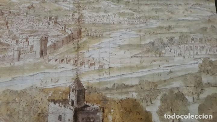 Carteles: Cartel actual Vista de Valencia del dibujo del siglo XVI de Anton Wyngaerde - Foto 8 - 118705063