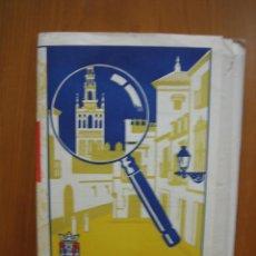 Carteles: ANTIGUO PLANO GENERAL DE SEVILLA. MAPA URBANO. Lote 119097563