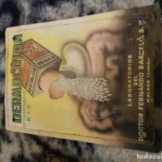 Carteles: CARTEL PUBLICITARIO DERMACOLON LABORATORIOS DEL DOCTOR FERNANDO BARCELO. Lote 119220855