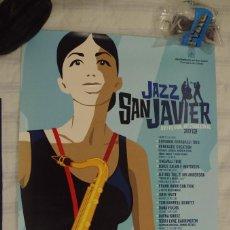 Carteles: CARTEL 15º FESTIVAL INTERNACIONAL DE JAZZ SAN JAVIER 2011 - TAMAÑO 44 X 30 CMS. Lote 119456743