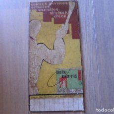 Carteles: CARTEL PUBLICIDAD HIJO DE MIGUEL OLIART. Lote 119965475