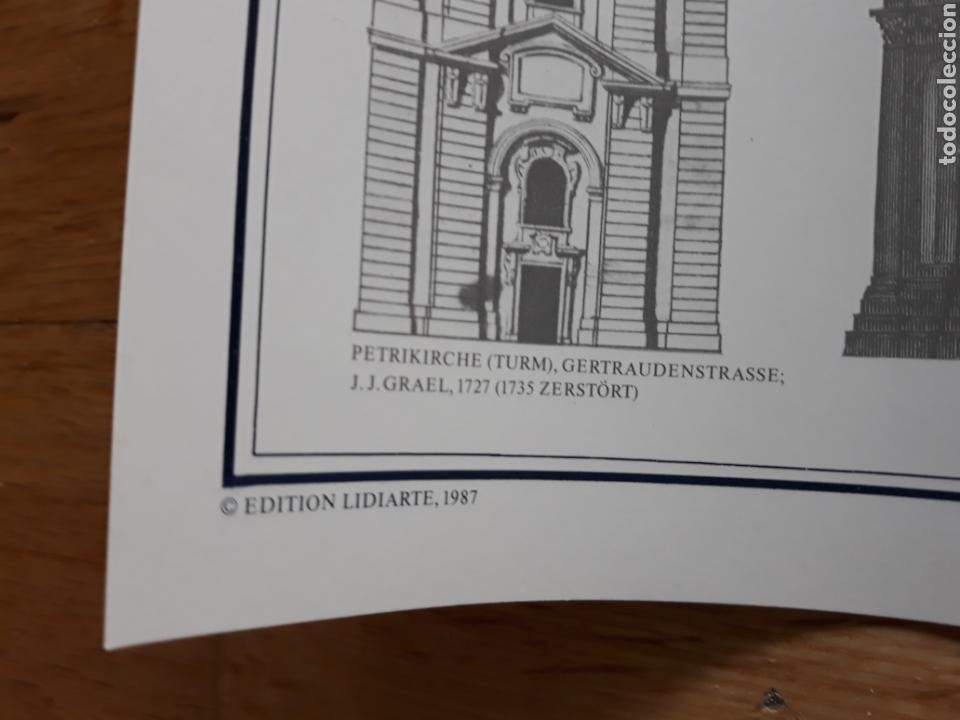 Carteles: Póster / Cartel Arquitectura barroca de Berlín. Ediciones Lidiarte 1987. - Foto 2 - 120414555