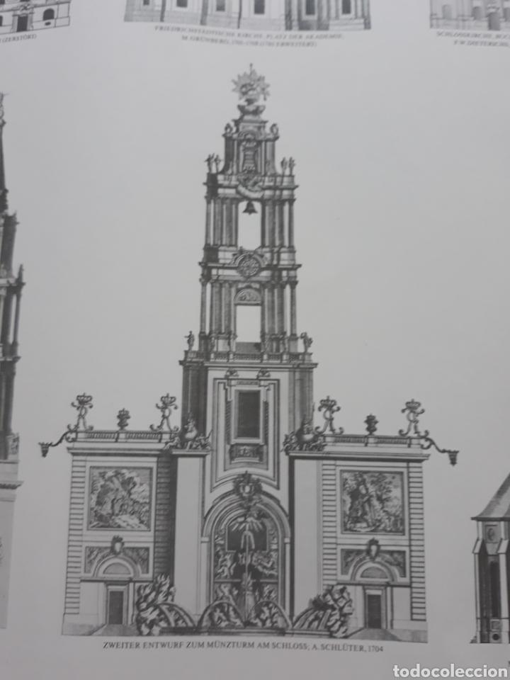 Carteles: Póster / Cartel Arquitectura barroca de Berlín. Ediciones Lidiarte 1987. - Foto 4 - 120414555