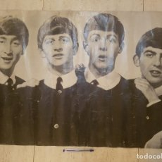 Carteles: RARO ANTIGUO PÓSTER CARTEL THE BEATLES 1981 FOTO ATHENA INTERNATIONAL 88*59 DISC TAL CUAL FOTOS DESG. Lote 120491515