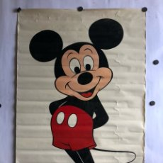 Carteles: POSTER DE 1980 DE MICKEY MOUSE. 62 X 93 CMS. HECHO EN ESCOCIA.. Lote 120519956