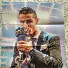 Carteles: POSTER CRISTIANO RONALDO THE BEST 2017. Lote 123493103