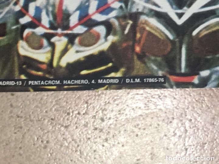 Carteles: RA4 POSTER CARTEL ORIGINAL MACHETE POSTERS MASCARA MASCARAS AÑOS 1976 - Foto 6 - 124270611