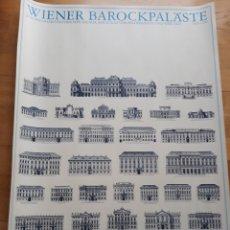 Carteles: CARTEL PÓSTER PALACIOS BARROCOS VIENESES. EDICIÓN LIDIARTE 1985. Lote 124277568