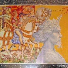 Carteles: CARTEL GRANDE LITOGRAFIA DE - L`ALCUDIA 750 AÑOS - DE - MANUEL BOIX.TAMAÑO 140X88 CMS. Lote 124466259