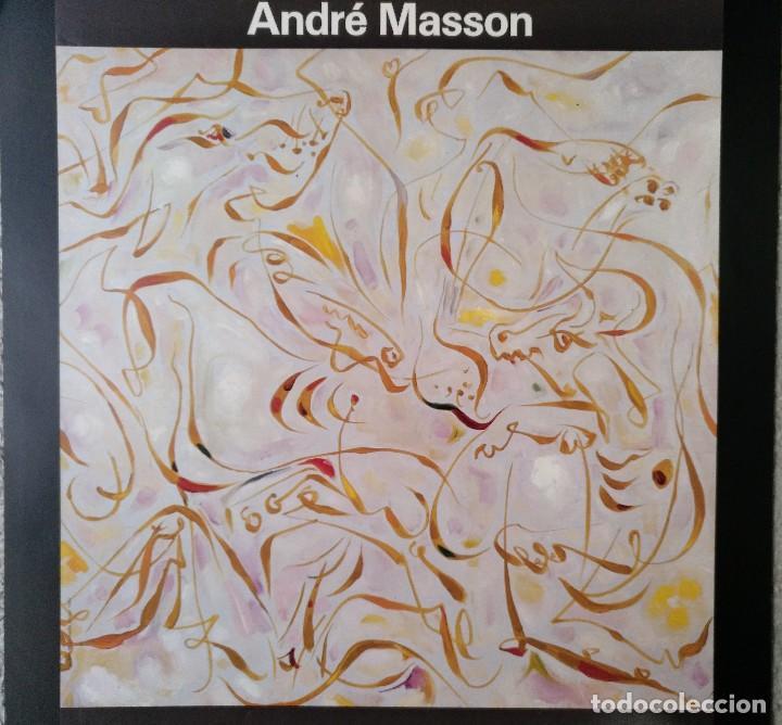 Carteles: CARTEL ANDRE MASSON NOVIEMBRE DICIEMBRE 1985 CENTRE CULTURAL LA CAIXA BARCELONA - Foto 2 - 124720939