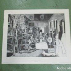 Carteles: GRAN POSTER PICASSO - LAS MENINAS - 1972 - GRAFICOS HISPANO - ORONOZ - 101 X 82 CM. Lote 125152467