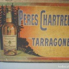 Carteles: CARTEL PÈRES CHARTREUX, TARRAGONE, ORIGINAL DE ÉPOCA. Lote 128852923