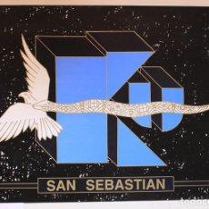 Carteles: POSTER KU SAN SEBASTIAN 1998 • 67 X 47 CM.. Lote 129637115