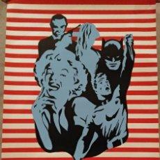Affissi: POSTER ORIGINAL POP-ART. AÑOS 60. AUTOR EQUIP DOS. EDICIONES EGAT.. Lote 240931570