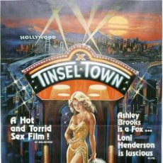 Carteles: TINSEL TOWN. POSTER PELICULA X USA. Lote 133162854