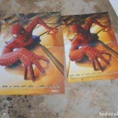Carteles: CARTELES DE CINE DE SPIDERMAN DE CINE O VIDEOCLUB AÑO 2002. Lote 133242350