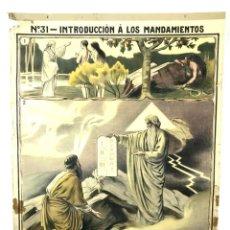 Carteles: LOTE DE 12 CARTELES MURAL. DIONÍS BAIXERAS. VILAMALA ED. BARCELONA. CIRCA 1912.. Lote 133697974