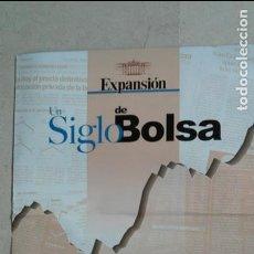 Carteles: EXPANSION UN SIGLO DE BOLSA.-PÒSTER GIGANTE. Lote 132993398