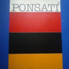Carteles: JOSEP PONSATÍ. GALERIA MAEGHT. 1979. Lote 134099462