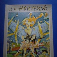 Carteles: EL HORTELANO. GALERIA RENE METRAS. 1980. Lote 134105618