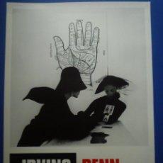 Carteles: IRVING PENN. FUNDACIÓ JOAN MIRÓ. 1987. Lote 134106078